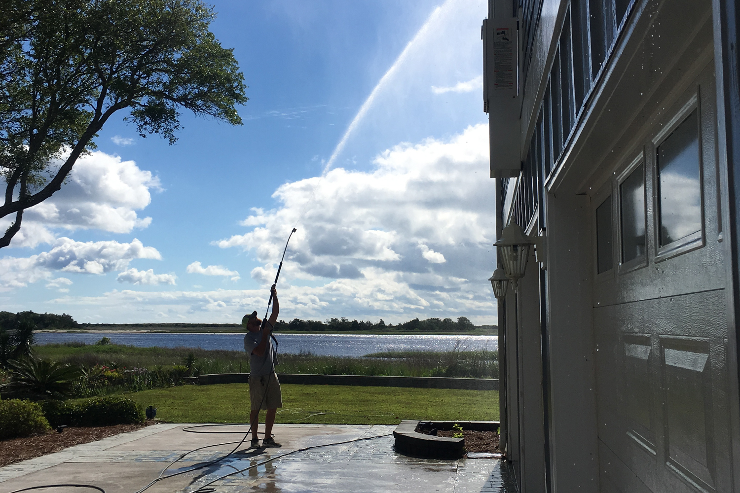 Pressure washing wrightsville beach nc