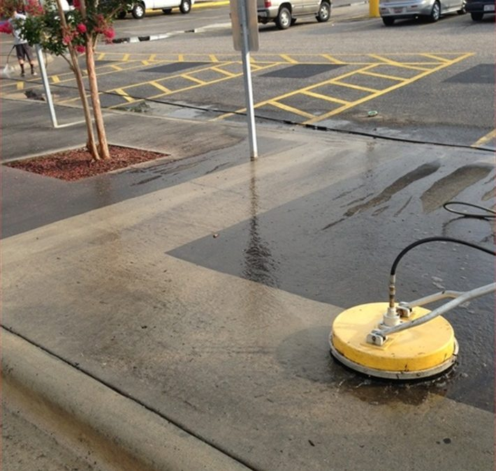 Pressure Washing for Commercial Properties and Businesses
